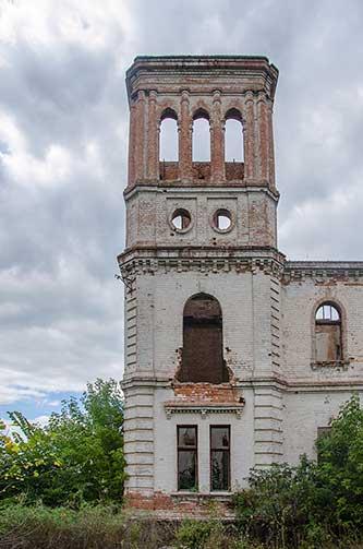 Палац Вімберга в селі Ясинуватка