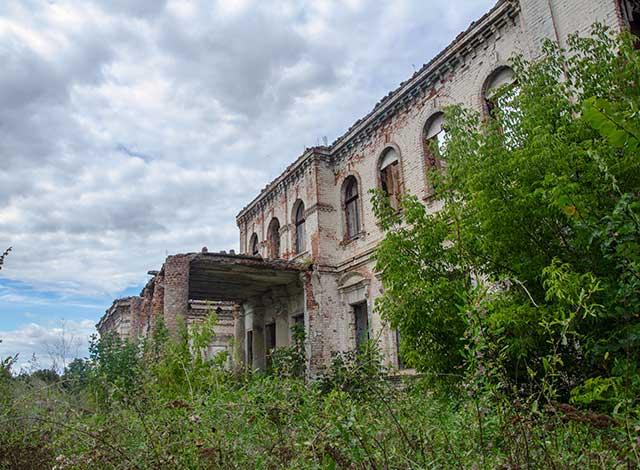 Руїни палацу Вімберга в Кіровоградській області